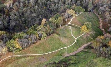 Sutvarkytas Buivydų piliakalnis