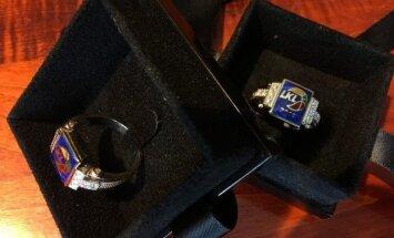LKL čempionams skirti aukso žiedai