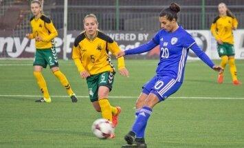 Futbolas: Lietuvos moterų rinktinė – Izraelis