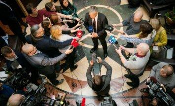 Konservatoriai išsakė sąlygas deryboms su valstiečiais žaliaisiais