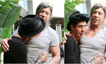 Mickey Rourke ir Guiseppe Franco