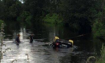 Finišas upėje