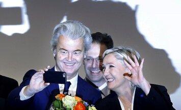 Geertas Wildersas ir Marine Le Pen