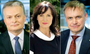 Gitanas Nausėda, Jolanta Blažytė, Robertas Dargis