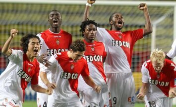"""Klubo """"Monaco"""" žaidėjai"""