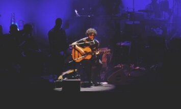 Jose Gonzalez koncerto Vilniuje akimirkos (J.Urbonavičiūtės nuotr.)