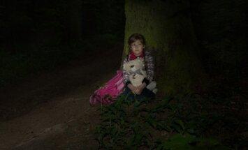Vaikas, pasiklydęs miške