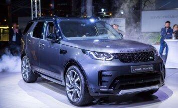 Vilniuje pristatytas naujos kartos Land Rover Discovery