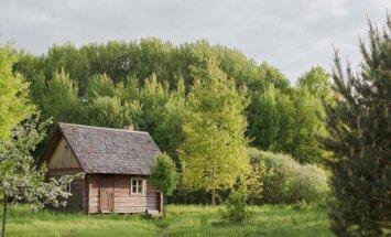 Krunų ekogyvenvietė, Kristinos Zaveckienės namai