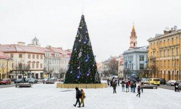 Kalėdų eglutė Rotušės aikštėje
