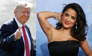 Donaldas Trumpas, Salma Hayek