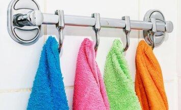 Praktiškos idėjos mažai voniai