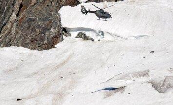 Šveicarijoje rastas negyvas Alpėse nukritusio karo lėktuvo pilotas
