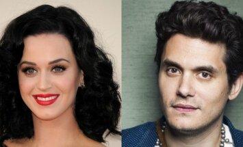 Katy Perry ir John Mayer. SIPA/Scanpix ir Ap/Scanpix nuotraukos