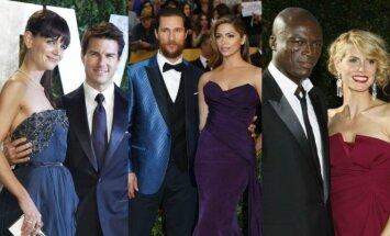 K. Holmes, T. Cruise'as, M. McConaughey, C. Alves, Seal'as, H. Klum