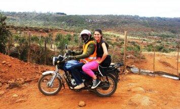 Madaros savanorsytė Afrikoje