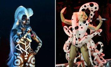 Grace Jones ir Lady Gaga