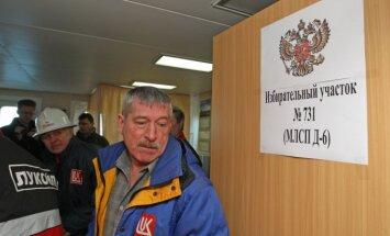 Rusija renka prezidentą: balsuojama Kaliningrade