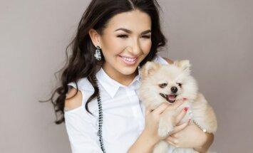 Besilaukianti Sofio Gelašvili-Niūniavė tapo modeliu FOTO: Alina Photography