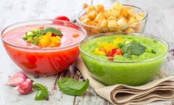 Pačios gardžiausios šaltos sriubos: moliūgų, cukinijų ir pomidorų
