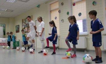 Kačerginėje vyko futbolo šventė mažiesiems
