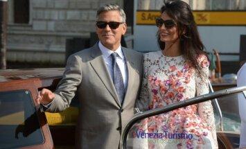 G. Clooney nuotaka vestuvių savaitgaliui pasirūpino net 12 apdarų komplektų