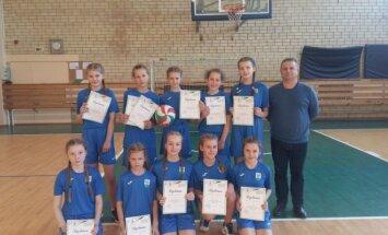 Mergaičių kvadrato komanda pateko į LMŽ finalines varžybas