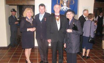 Odznaczono zasłużonych dla Wielkiego Księstwa Litewskiego. Fot. Daiva Andriulienė