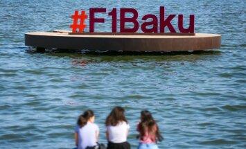 Formulės-1 GP etapas Azerbaidžano sostinėje Baku