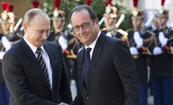 Vladimiras Putinas, Francois Hollande'as
