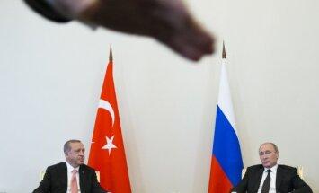 R. T. Erdoganas ir V. Putinas