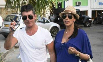 Simono Cowello ir Lauren Silverman atostogos.