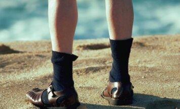 Kojinės ir basutės