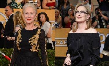 Aktorės Helen Mirren, Meryl Streep