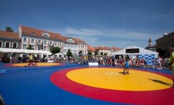 Imtynės Vilnius Open.