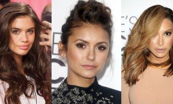"""Victoria's Secret"" kolekcijos pristatymo užkulisiai, Nina Dobrev or Naya Rivera"