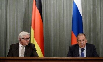 Frankas-Walteris Steinmeieris  ir Sergejus Lavrovas