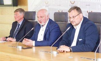 Artūras Paulauskas, Valentinas Mazuronis, Kęstutis Daukšys