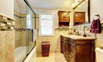 8 patarimai, kaip vonios kambariui suteikti naują veidą