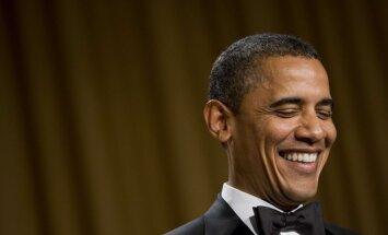 B.Obamos ir Baltųjų rūmų korespondentų asociacijos vakarienė