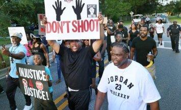 Juodaodžių protestas Floridoje