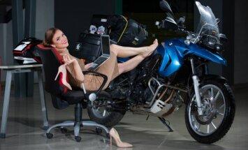 Mototurizmo sprintas. Lyderiai gyvenime ir prie motociklo vairo