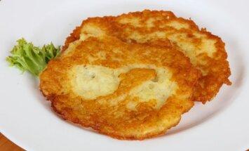 Virtų bulvių blynai, kuriems nėra lygių