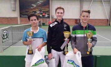 Teniso turnyro Šiauliuose nugalėtojai