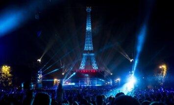 Euro 2016 atidarymo koncertas prie Eifelio bokšto