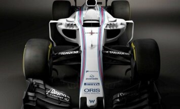 Naujas F-1 Williams komandos automobilis / Foto: Williams Racing