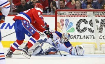 NHL: Capitals - Oilers