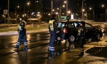 Policijos reidas Vilniuje (asociatyvi nuotr.)