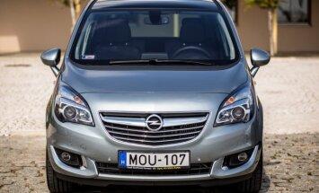Opel Meriva pakeis SUV modelis