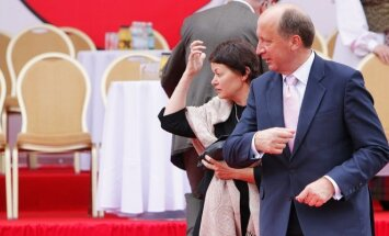 Premjeras Andrius Kubilius su žmona Rasa
